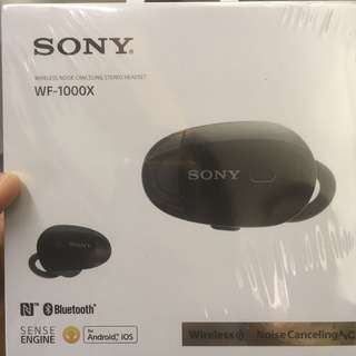 Sony Bluetooth Headset WF-1000X