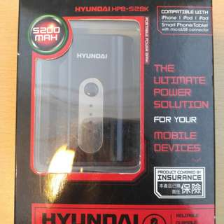 HYUNDAI HPB-52BK 5200mah POWER BANK 充電器
