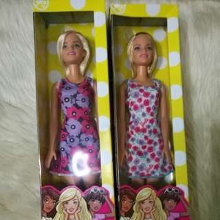 2pcs Barbie Basic 2017