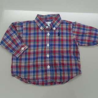 Ralph Lauren Shirt (3months)