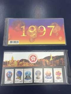 香港郵票 特區成立記念