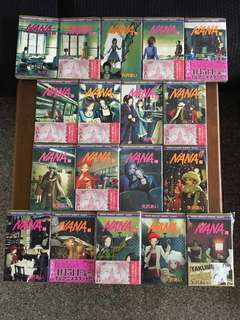 Nana Vol 1-18 (In Japanese 日本語)