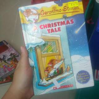 [clearance sales] Geronimo Stilton hard cover story book