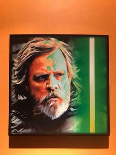 Luke Skywalker : Pop Art Poster Frame