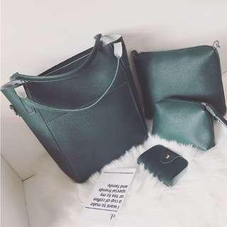 4 Piece Ladies Bag Set