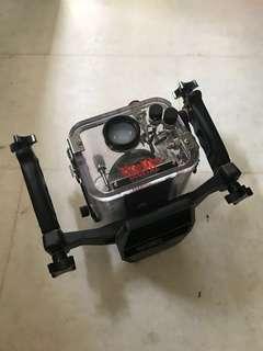 camera casing for scuba diving