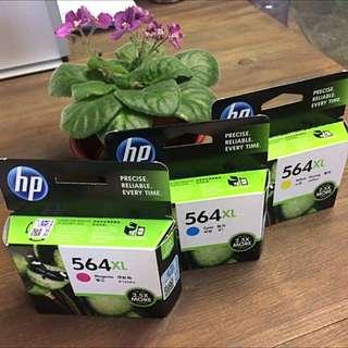 惠普HP 564XL 高容量原廠墨水(3色)