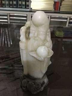 石頭雕刻-壽星公
