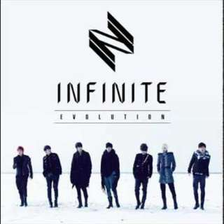 ON HAND UNSEALED ALBUM INFINITE EVOLUTION