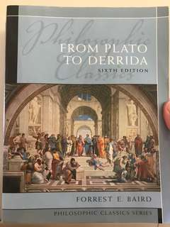 From Plato to Derrida - Sixth Edition
