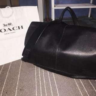 Coach Messenger leather calf skin