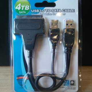 USB3.0 TO SATA CABLE (SUPPORT 4TB)