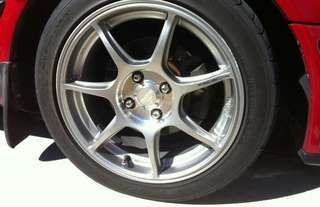 """15"""" Enkei RS+M with Re71r tyres"""