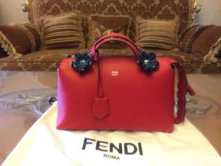 Fendi By The Way Flower Bag