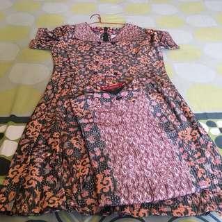 Couple Dress Kemeja Batik