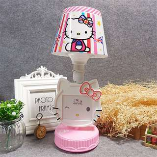 Hello Kitty Lamp with Picture Frame