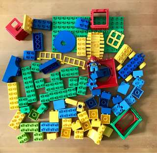 Lego duplo bricks 94 pcs with original box