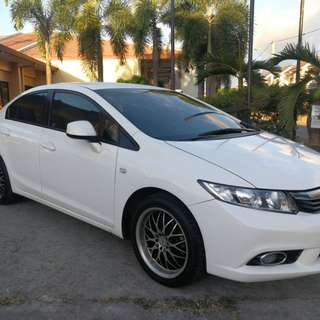 Honda Civic acquired 2013 AT with ECON