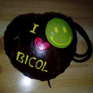 Coins holder so cute made from bicol😻