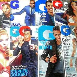 GQ Mens Fashion Magazines 2015