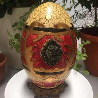 European egg display