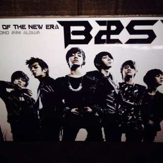 Beast-Shock of The New Era [2nd mini Album] (Korean press with Photobook)(Sealed)