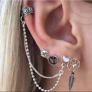 Europe earrings