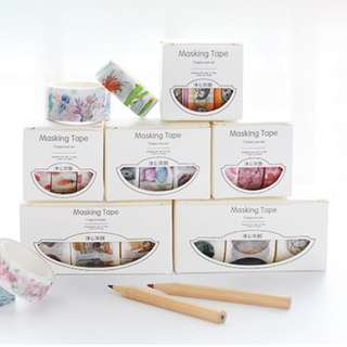 Washi Tape Set 3 Rolls (Ref No.: 165)