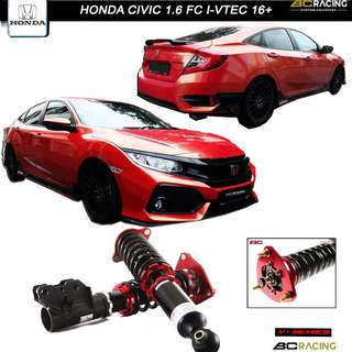 HONDA CIVIC 1.6 FC I-VTEC 16+  - BC RACING V1 SERIES COILOVER