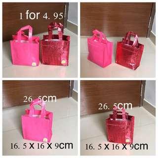 Waterproofs CNY Orange Totes Bag