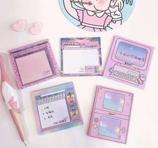 Japanese pocket note pad
