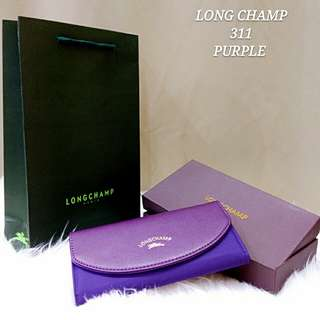 LONGCHAMP WALLET (PURPLE)