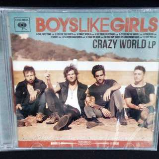Boys Like Girls	-	Crazy World	CD (Sealed)