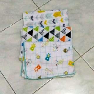 3 pcs bedong bayi libby selimut baby murah