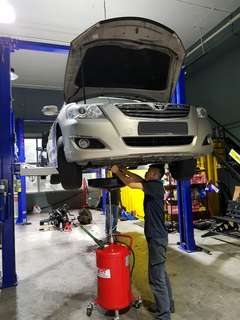 $38 car servicing (10000km interval)fully synthetics engine oil