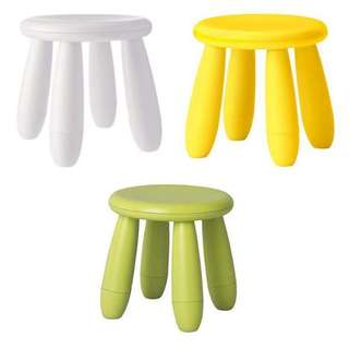 Ikea chair / mammut chair / stools