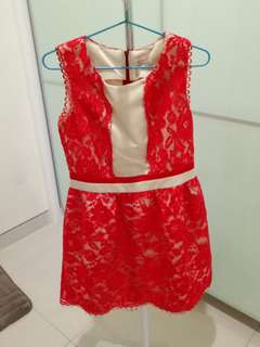Moscato Red Dress