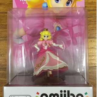 Nintendo Wii - amiibo - Peach (Super Smash Bros)