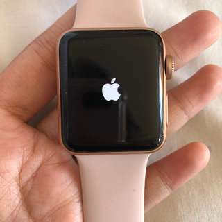 Apple Watch Rosegold 38mm