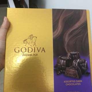Godiva 黑朱古力(全新未拆封!)