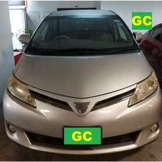 Toyota Estima RENTAL CHEAPEST RENT FOR Grab/Uber/Personal