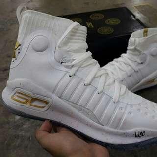 "UA Curry 4 ""White/Gold"""