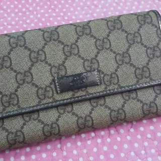 preloved gucci wallet for her