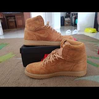 Nike air jordan 1 wheat original size 11 vnds