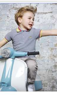 HUNTING FRED PERRY KIDS