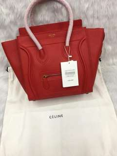 80d962676d7e Celine Micro Luggage Handbag Medium