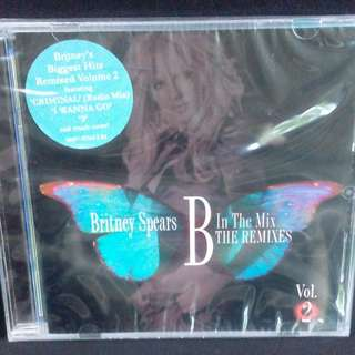 Britney Spears	-	B In The Mix - The Remixes Vol.2	CD (Sealed)