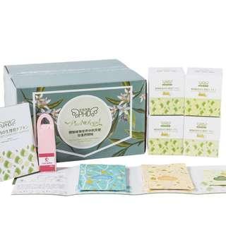 女性天使PHD天然植物纖維材質衛生巾四盒護墊
