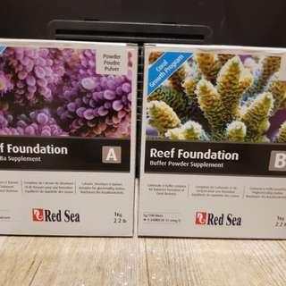 Reef Foundation A & B