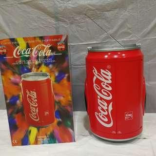 可口可樂珍藏版卡式收音機